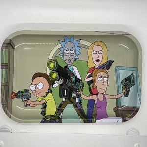 Rick and Morty Rolling Tray 7 X 11